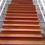 Bangkirai σκαλες