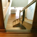 Oak stairs solid wood